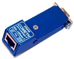 COMETH en version télé-alimentée Pin 9 du connecteur DB9