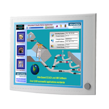 "Moniteur ADVANTECH, 19"" SXGA Ind. Monitor w/ Resistive TS (Combo)"