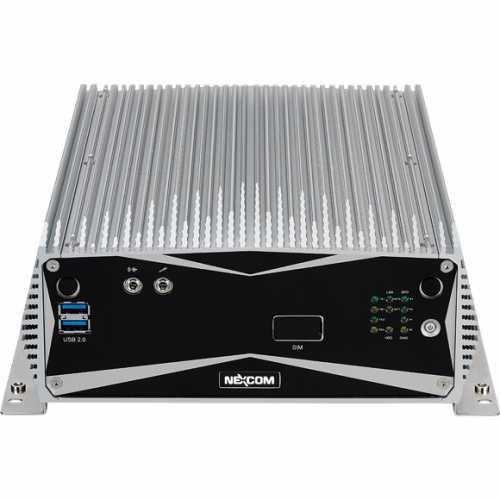 PC industriel fanless (sans ventilation) à base de processeur Intel® Core™ i7/i5/i3 de la 6ème génération - 1 slot PCIEx4