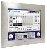 """Panel PC industriel 19\"""" à face avant INOX à base de processeur Intel Core2Duo/CoreDuo/Celeron mobile - Tactile ELOTOUCH"""