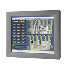 """PC ADVANTECH, 12"""" SVGA Touch Panel PC, Atom N270 1.6GHz, 1GB"""